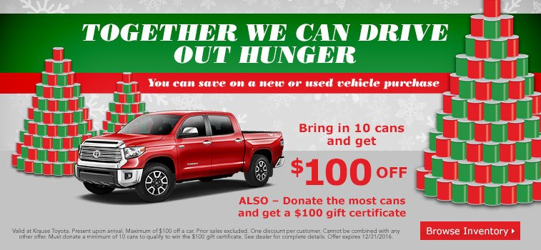 Hunger Can Drive