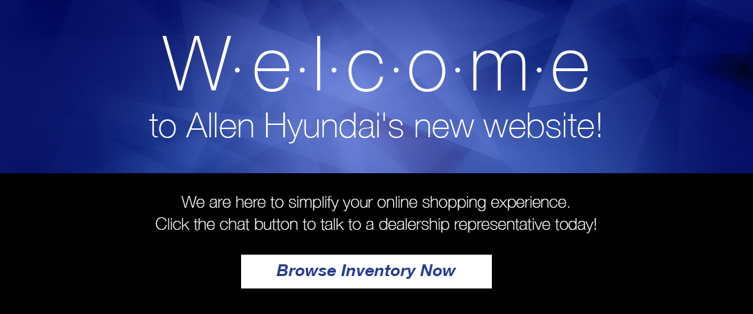 Welcome to Allen Hyundai