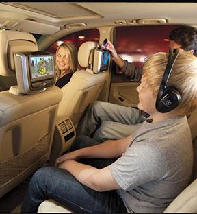 BMW Headrest Monitors