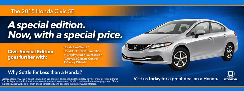 2015 Civic Offer