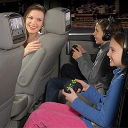 Headrest DVD Monitors