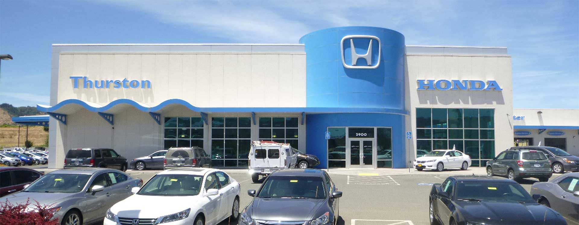 Thurston Honda New and Used Cars Parts and Service