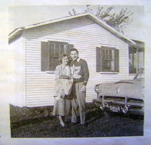 Paul and June Hurlbert 1950(2)