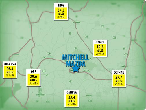 Mitchell Nissan Enterprise Al >> Find a New Mazda in Enterprise, AL Near New Brockton and Ozark | Mitchell Mazda
