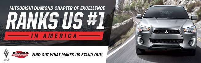 The Mitsubishi Diamond Chapter of Excellence ranks us #1. Click here to find out what makes us stand out!
