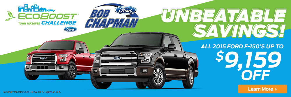 Bob Chapman Ford Marysville Ohio Used Cars