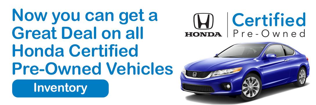 Honda Certified Banner