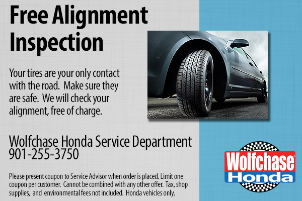 Honda Free Alignment Inspection