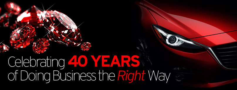 Wantagh Mazda is Celebrating 40 Years of Doing Business the Right Way