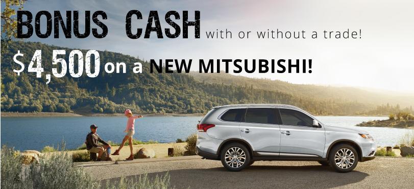 MissionMitsubishi - Bonus Cash