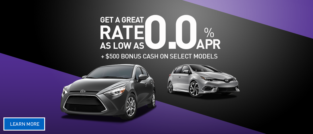 Scion APR Offers