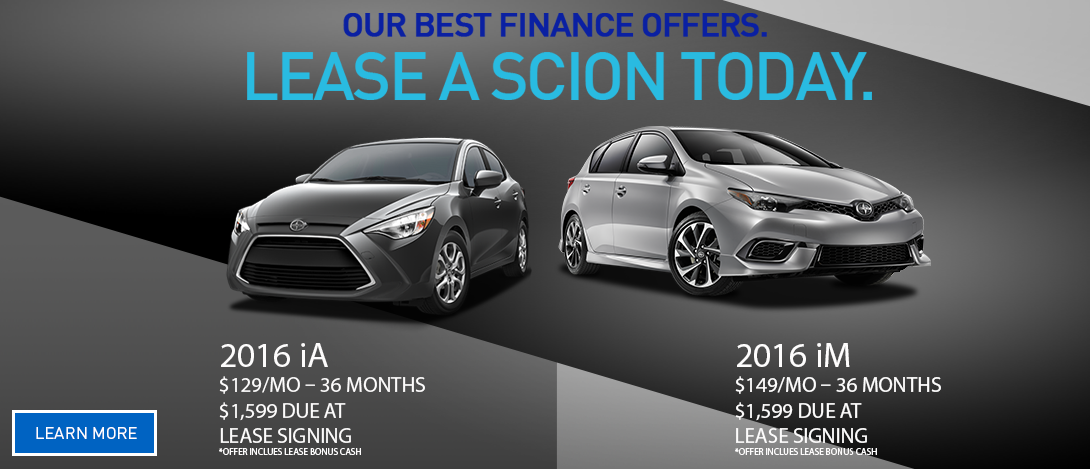 Scion Lease Offers