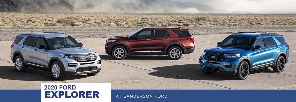 2020 Ford Explorer Vehicle Spotlight Sanderson Ford Phoeniz Az