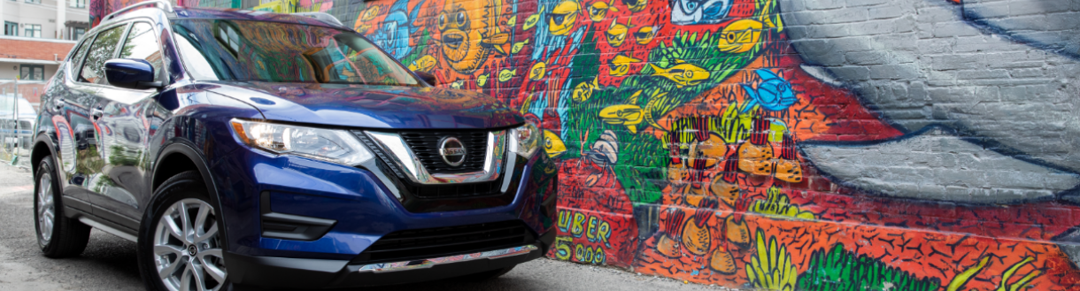 Exterior image of the 2020 Nissan Rogue | Toronto, ON