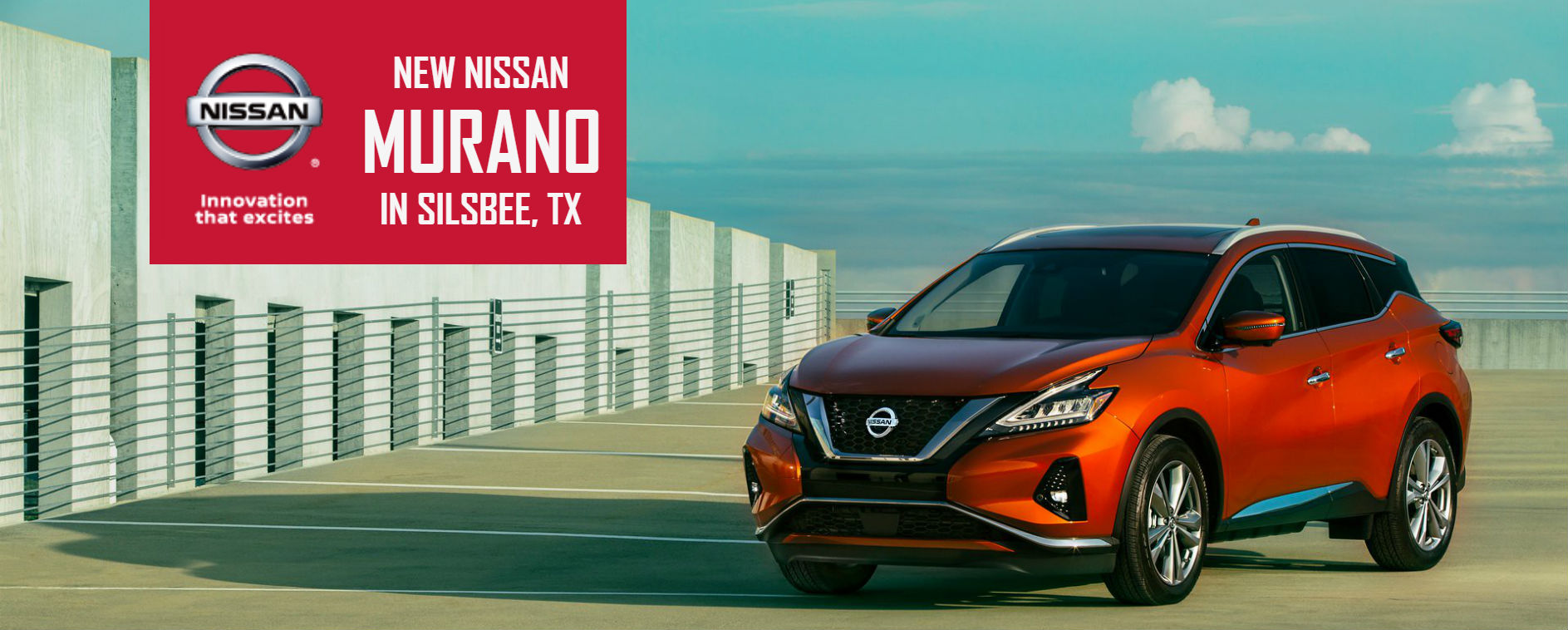 New Nissan Murano In Silsbee, TX