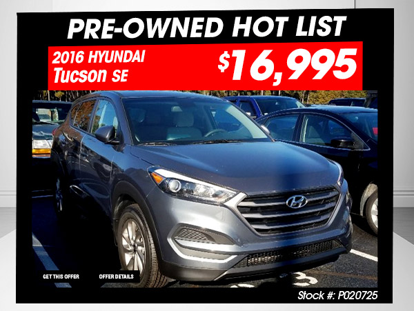 Bryan Honda - PreOwned Hot List Deal