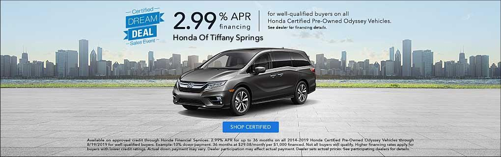 Honda Certified Pre Owned Financing >> Certified Pre Owned Honda Cars For Sale In Kansas City Mo Honda
