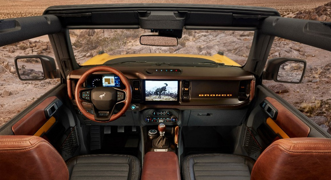 With six unique models on offer, in eleven colour choices, personalizing a new Bronco won't be a problem. Models range from a base Bronco, a no-frills SUV for those who want to customize their own, to Big Bend™, Black Diamond™ and the Outerbanks™, and topping out with Wildtrak™ and Badlands™ for more extreme off-road adventuring.  In addition, Bronco launches with more than 200 factory-backed accessories for even greater capability, personalization and style.