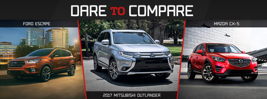 2017 Mitsubishi Outlander Comparison