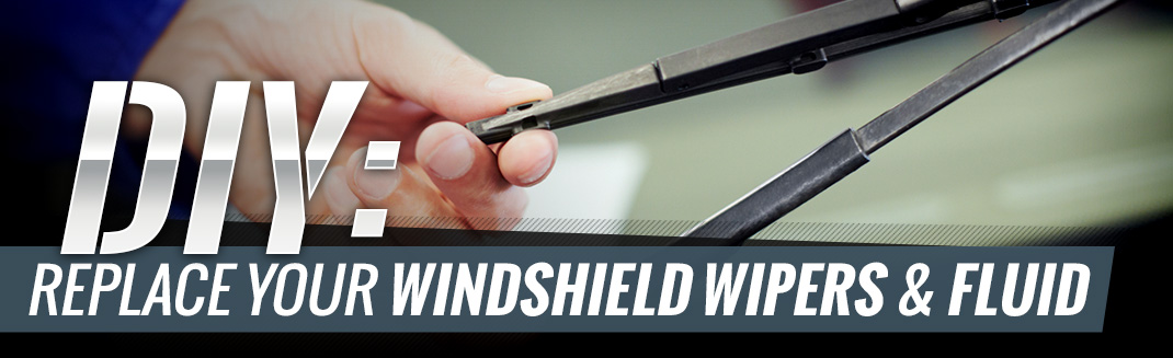 DIY: Replace Windshield Wipers and Fluid