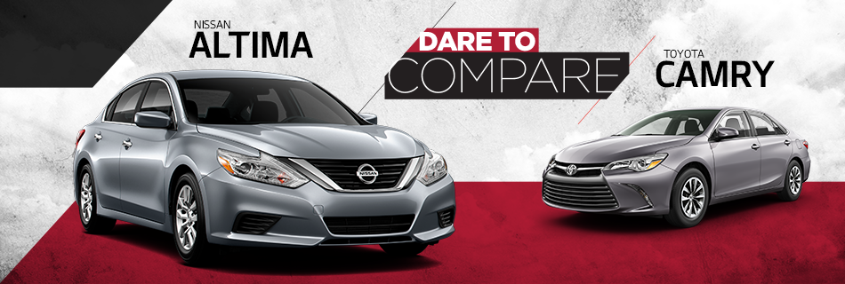 Compare nissan altima to toyota camry
