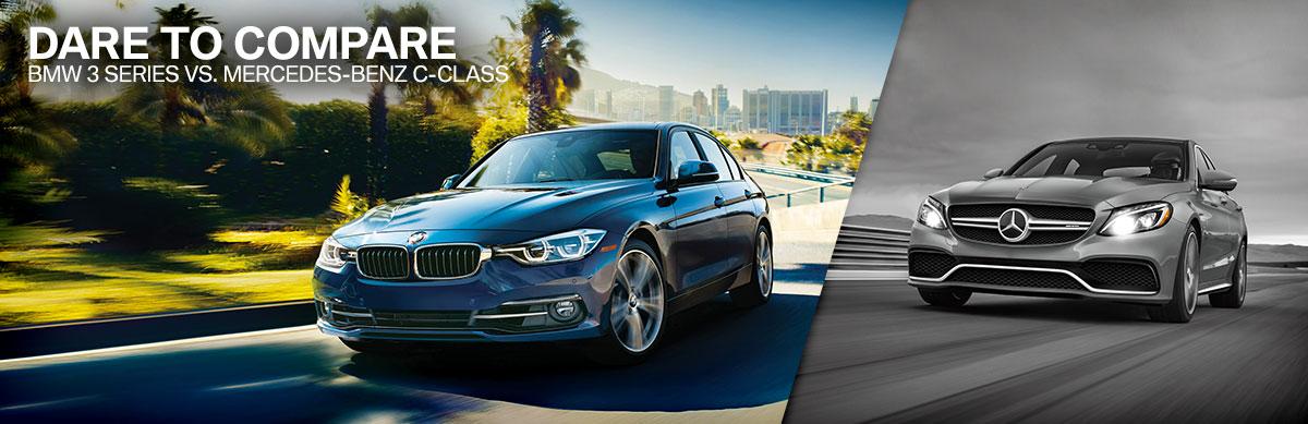 Dare to Compare BMW 3Series vs Mercedes CClass