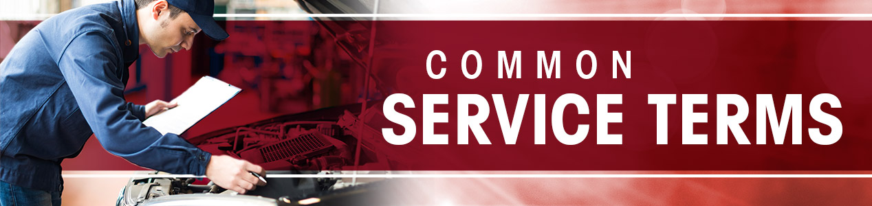 Common Service Terms In Charlotte, NC