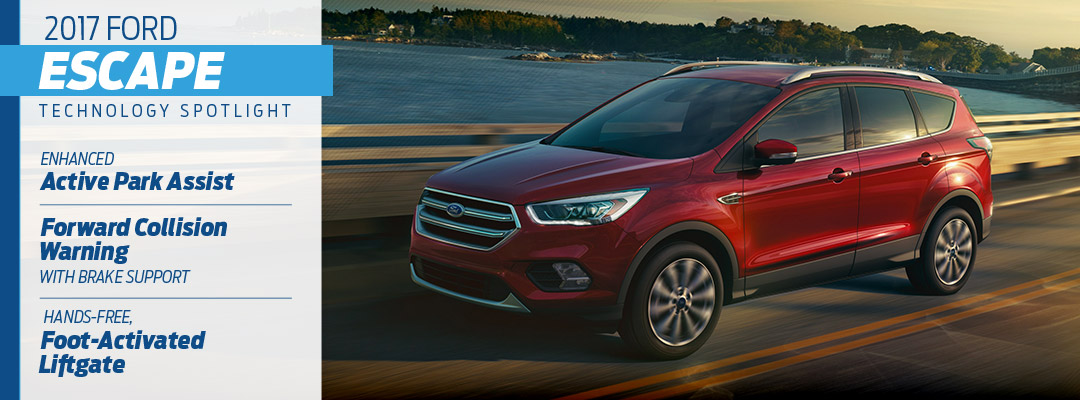 2017 Ford Escape Technology in Pittsburgh, PA