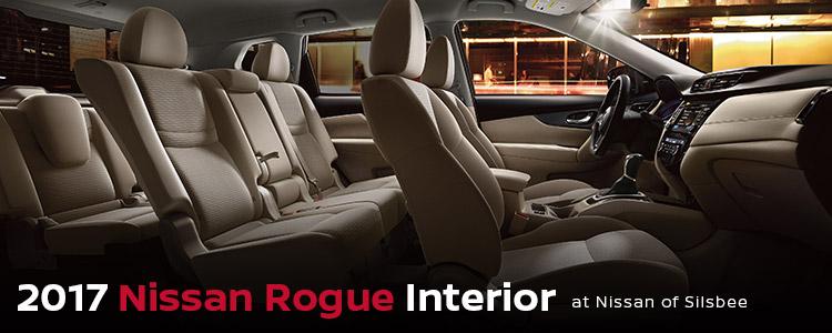 2017 Nissan Rogue Interior Nissan Of Silsbee Silsbee Tx