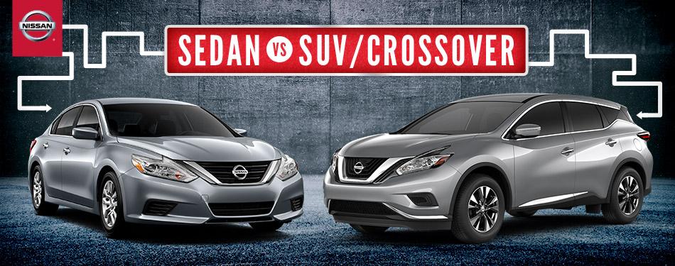 Nissan Sedan Vs Suv