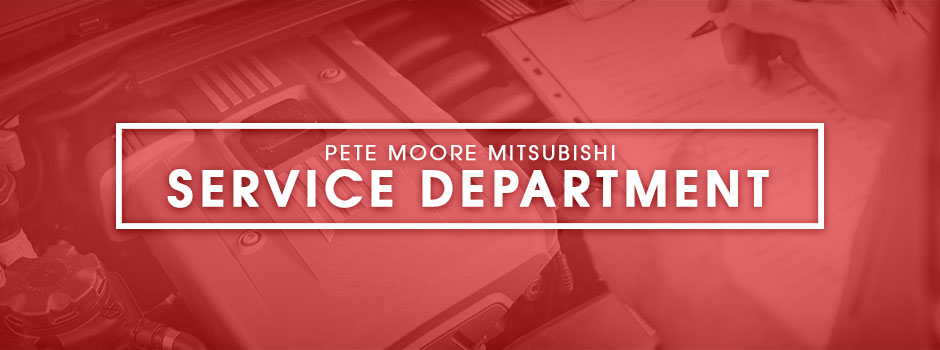 Pete Moore Mitsubishi Service Department