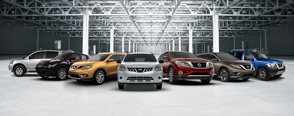 2017 nissan suv crossover model lineup south county nissan gilroy ca. Black Bedroom Furniture Sets. Home Design Ideas