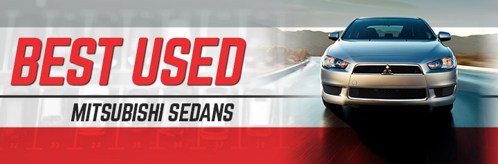 Best Used Mitsubishi Sedans