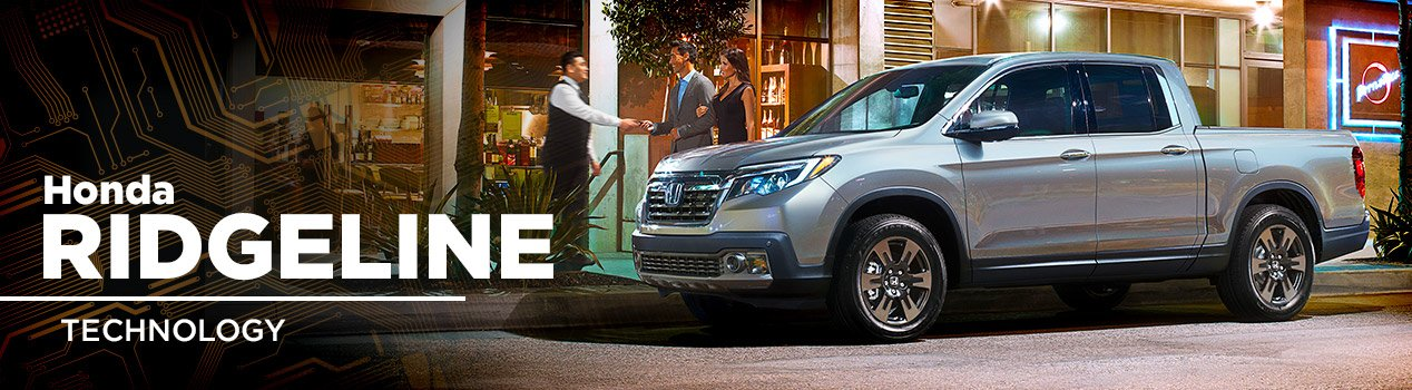 Honda Ridgeline Technology | Russell Honda | North Little Rock, AR