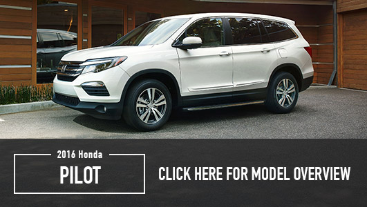 2016 Honda Model Overviews
