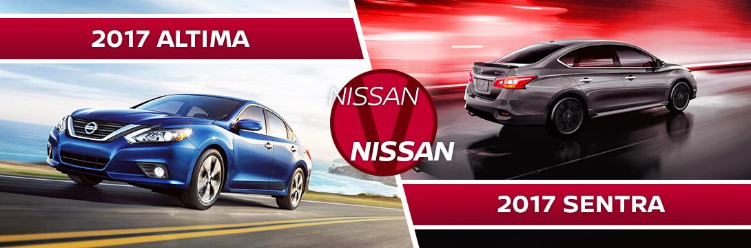 Nissan Altima Vs. Nissan Sentra