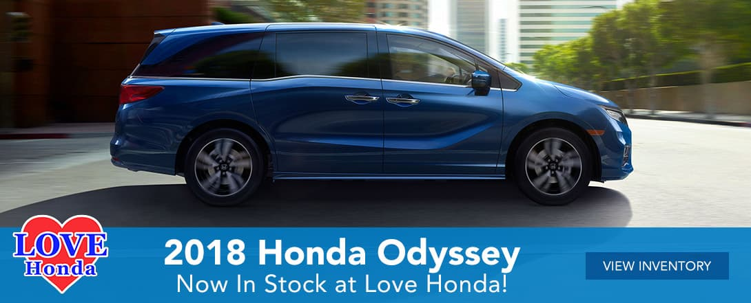 2018 Honda Odyssey at Love Honda in Homosassa, FL
