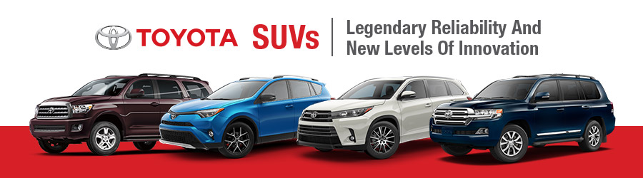 Toyota SUVs at Krause Toyota - Serving the Lehigh Valley