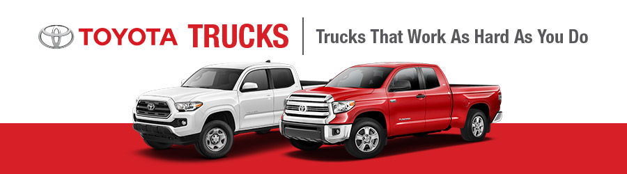 Toyota Trucks at Krause Toyota - Serving the Lehigh Valley