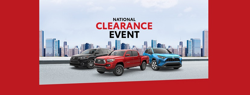 National Clearance Event at Krause Toyota