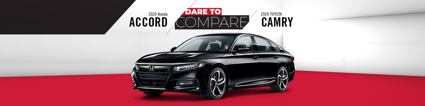 2020 Honda Accord vs. Toyota Camry | Homosassa, FL