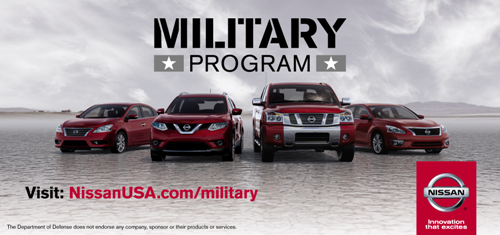 Haddad Nissan - Military Program