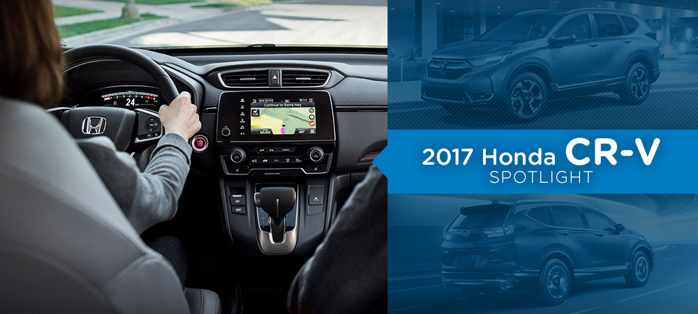2017 Honda CR-V Technology Spotlight
