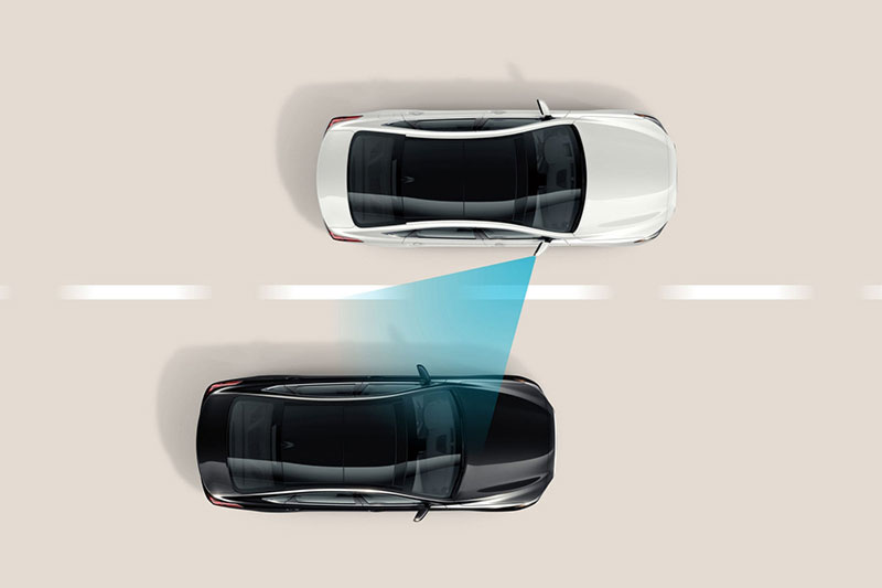 Blind Spot Collision Warning in the 2020 Hyundai Santa Fe | Toronto, ON