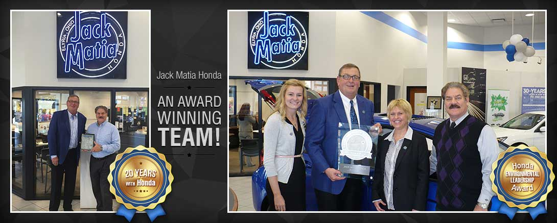 Jack Matia Honda - Award-Winning Team