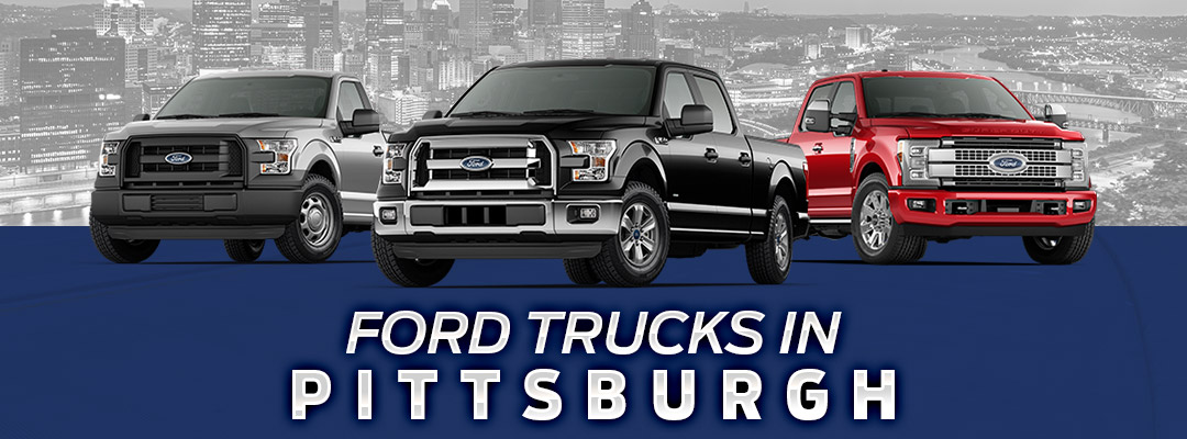 Ford Trucks in Pittsburgh, PA