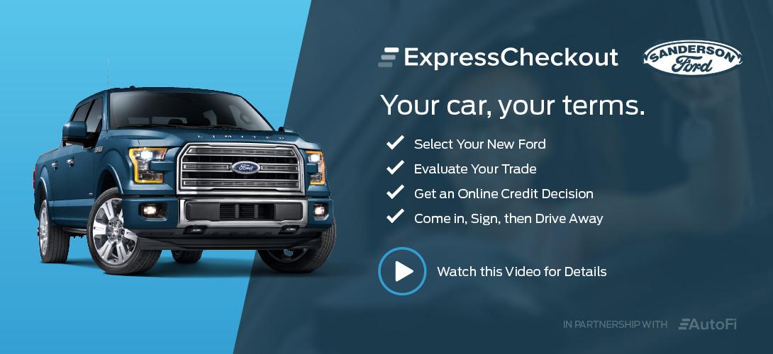 express_check & New and Used Ford Dealership of Phoenix AZ | Sanderson Ford markmcfarlin.com