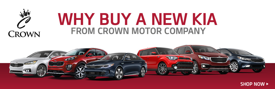 Why Buy a New Kia - Crown Kia of Longview - Longview, TX