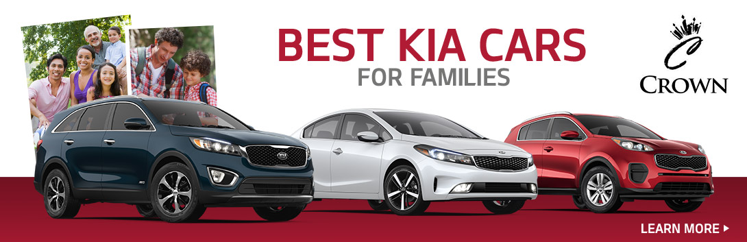 Best Kia Cars for Families - Crown Kia of Longview - Longview, TX