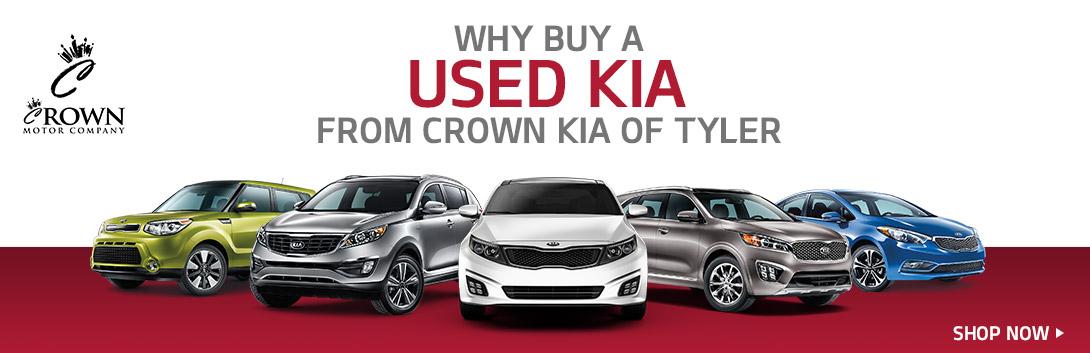 Crown Kia Tyler Tx >> Why Buy Used Kias In Tyler Tx Crown Motor Company
